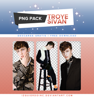 Pack PNG #04 - Troye Sivan by xPEGASVS