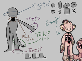 Emoti-Tons Anatomy- !Open Species! by Sozbii