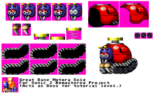 Great Bane Motora - Sonic 2 Remastered by ACE-Spark