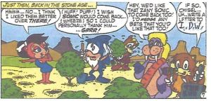 Prehistoric Freedom Fighters IDW Sonic plug by dth1971