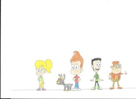 Jimmy Neutron in the Loud House Style by Chimafan1