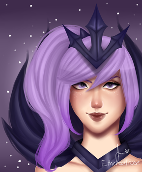 Elementalist Lux dark form by xEtherealrose