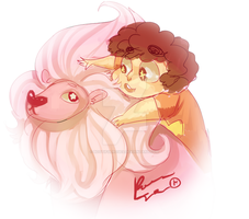 Steven and Lion by BootifulRoses