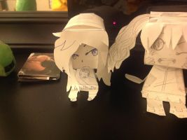 Kido???!!! (Paper craft) by RichHoboM3