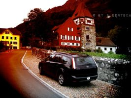 Rotes Haus Vaduz by pdentsch