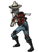 Dead West - The Exploding Miner by Tspuun