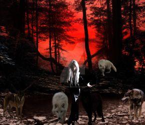 Thrown to the wolves by DarkMoonImages