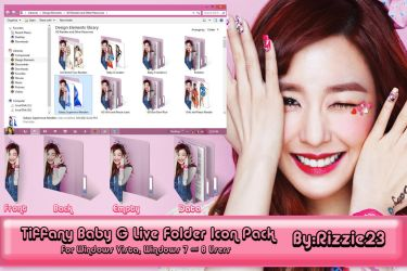 Tiffany Baby G Live Folder Icon Pack by Rizzie23