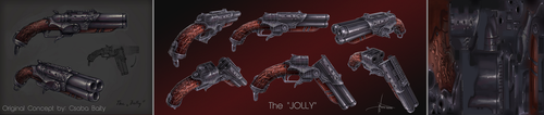 The Jolly Shotgun WIRE by Nick-A-D