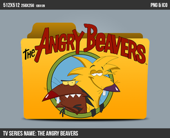 The Angry Beavers Folder ICON by kasbandi