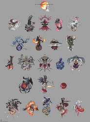 Bloodborne Bosses by emlan