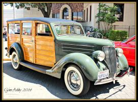 1936 Ford Woody by StallionDesigns
