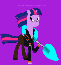 MLP-MC - Twilight Sparkle as Mike Chilton by worldofcaitlyn