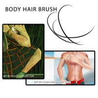 BODY_HAIR BRUSH by iisjahstock