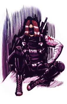 Bucky: the Winter Soldier by WinterGlace