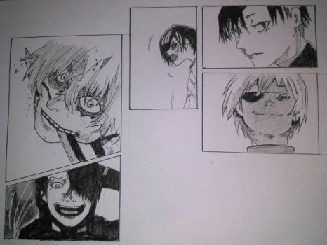 Tokyo Ghoul re by Afifdalma27