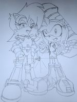 Sally And Amy New Fits Teaser by trunks24