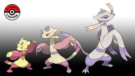 619 - 620 Mienfoo Line by InProgressPokemon