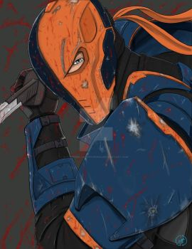 Deathstroke (updated but classic look) by ThePork-ChopExpress