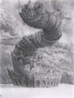 Twisted Tower by ChrisBeckerArt