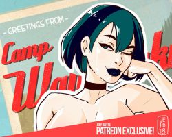 Gwen - Total Drama Island - July's Patreon Raffle by TheArtOfVero