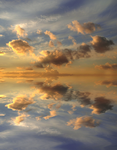 Sky Reflection Water STOCK by AStoKo 02 1 by AStoKo