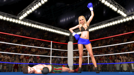 Commission: Brian Rose vs. Marisa Miller by ffists7