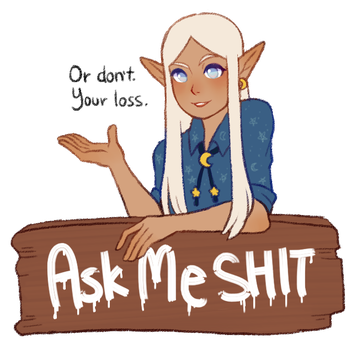 Ask Shae by Pechelait