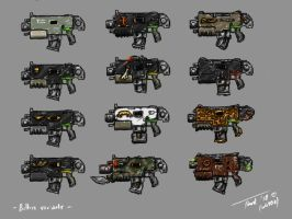 M43 Bolter variants by DarkLostSoul86
