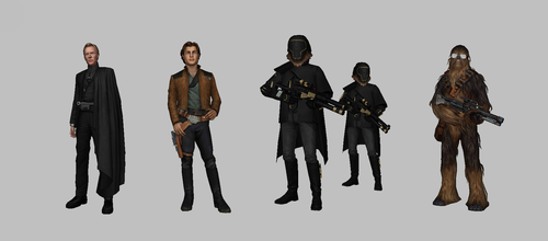 Star Wars: Force Arena - Solo Characters Pack by KittyInHiding