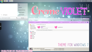 Creme Violet By FabiiEditions by fabii27