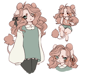 lion gorl [adopt] by tsumeaki