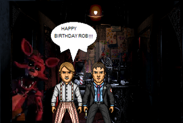 Happy Birthday Rob!!!! :D:D:D by The9thNightguard