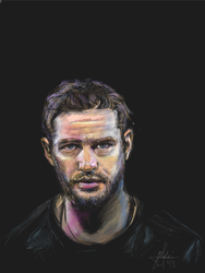Tom Hardy Portrait by gamerfan2000