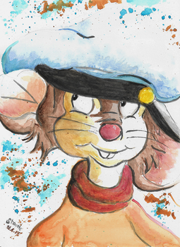 Fievel painting by SulaimanDoodle