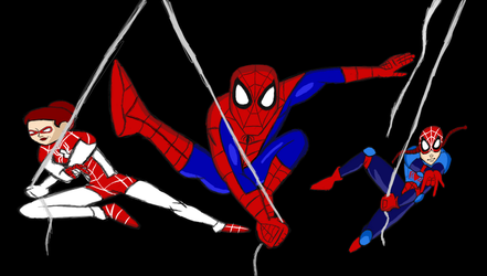 All New amazing Spiderman Family by stelly777
