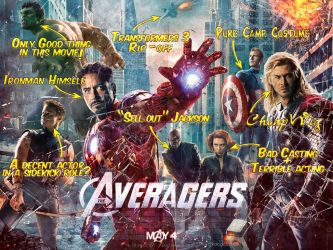 If Movie Posters Were Honest - The Avengers v1 by childlogiclabs