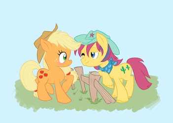 Well Howdy Applejack by Tell-Me-Lies