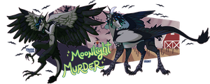 .:Moonlight Murder Halloween Auction:. closed by Hauket
