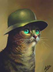 A Cat in a Serious Hat by alexandrabirchmore