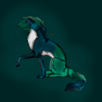 Akumu Speedpaint Full Body by Wolfsalterego