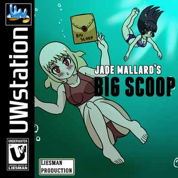 Jade Mallard's Big Scoop Cover by JimLiesman