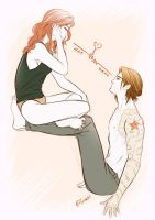 buckynat: we found love in a hopeless place by iwaki-0