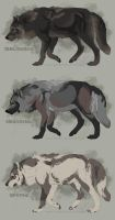 Semi-Realistic Wolf Adoptables Auctions - CLOSED by Therbis