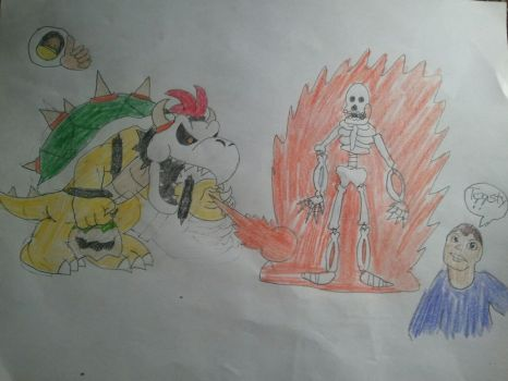 Bowser's First Fatality: Toasty by BenorianHardback26