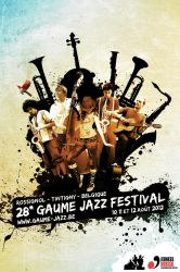Gaume Jazz Festival 2012 - Poster submission by NeMateria