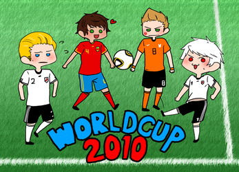 World Cup 2010 postcard by cowlicious