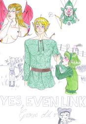 Yes, even Link grows old by Ecna-Tsonc