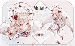 [Closed] Auction  Angel of Valentine's Day. by MoonSelena-adobts