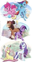 Mane6 G5 concepts by lgliang